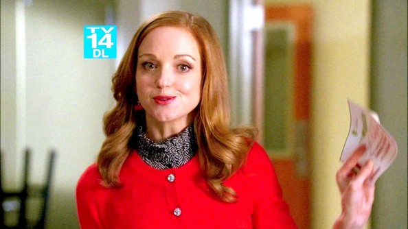 More Pics of Jayma Mays Flower Brooch (1 of 7) - Glee Lookbook - StyleBistro