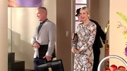 Kelly Rutherford was the picture of sophistication on 'Gossip Girl' in this boldly printed sheath dress.