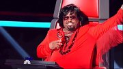 Cee-Lo channeled Elvis in this fringed knit bodysuit.