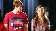 Melissa Benoist was all about plaid on 'Glee,' wearing not only a flannel button-down but a matching headband as well.