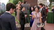 Yin Chang looked better than ever on 'Gossip Girl' in a sophisticated lavender dress.
