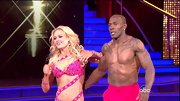 Peta Murgatroyd wore a  bra with bondage-style straps during the 'DWTS' finale. Now that's a wrap!