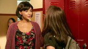 During a flashback scene, Cece layered a cozy cardigan by Free People over her floral Forever 21 frock.