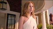 On the season four premiere of 'Revenge,' Emily Thorne (played by Emily VanCamp) took to her new digs in a fresh white halter maxi.