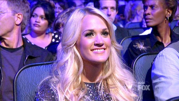 More Pics of Carrie Underwood Pink Lipstick (1 of 1) - Carrie Underwood Lookbook - StyleBistro