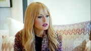 Rachel Zoe opted for this pink and black chevron blazer for her look on 'The Rachel Zoe Project.'