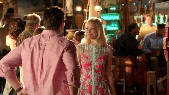 Jaime King's Lace Dress on 'Hart of Dixie'